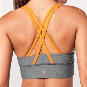 Lululemon long line energy bra